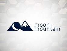 Moon + Mountain